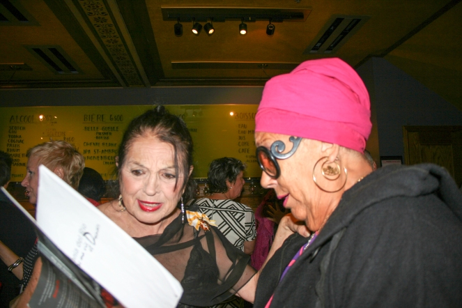 Sonia del Río y Francine Grimaldi