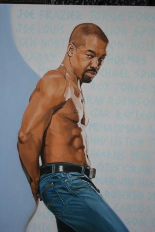 Otis Grant, excampeón mundial de boxeo. Foto de Patricia Morales Betancourt