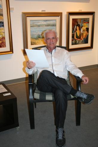 Richard Riverin en su Galería