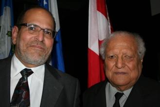 Víctor Pimentel, hijo y padre. Foto Patricia Morales Betancourt
