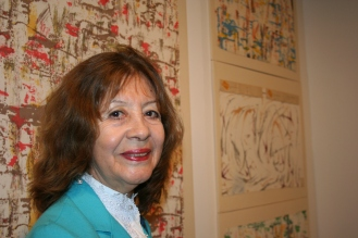Profesora Lady Rojas Benavente de la Universidad de Concordia. Foto: Patricia Morales Betancourt