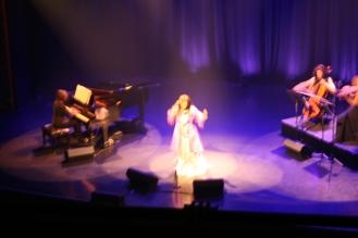 Marie-Josée y las músicas. Foto de Patricia Morales Betancourt