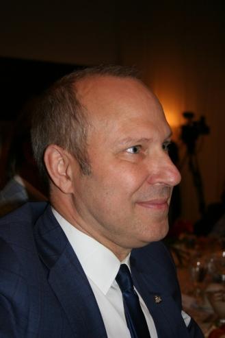 Presidente y jefe de la Camara de Comercio de Montreal, Michel Leblanc. Foto: Patricia Morales Betancourt