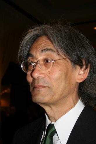 Kent Nagano, director de laorquesta sinfónica de Montreal. Foto: Patricia Morales Betancourt