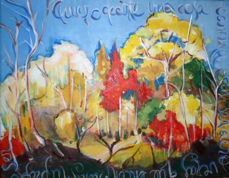 Pintura terminada de la Artista Patricia Morales Betancourt