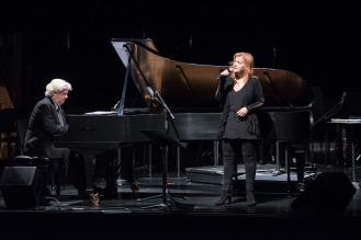 Marie Denise Pelletier et Mario Chagnon au piano
