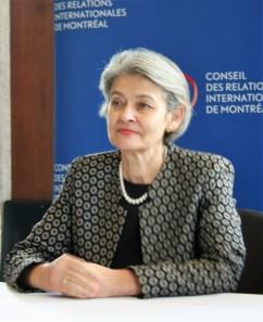 Irina Bokova, Directora General de la UNESCO. Foto: Patricia Morales Betancourt
