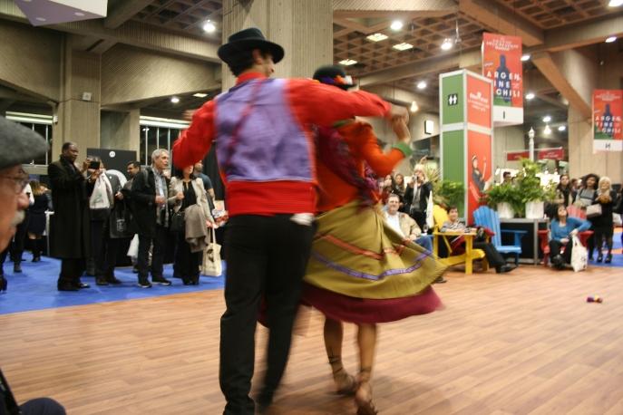 Baile -chileno. Foto: Patricia Morales Betancourt