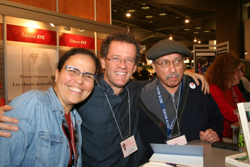 Patricia Morales, Yann Martel, Alberto Antonio Méndez