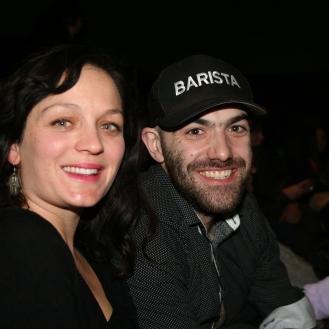 Aurelie Brunelle y Benoit B., director del Festival de Flamenco de Montreal