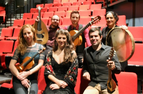 Demetrios Petsalakis (Oud), Benjamin Barrile (guitarra flamenca), Naghmeh Farahmand (percusión),Jessica Hana Deutsch (violín), Tamat Ilana (vocalista), Justin Gray (Bajo)