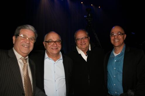 Salomon Oziel, Dave Dadoun, David Bensoussan y Stéphane Dadoun