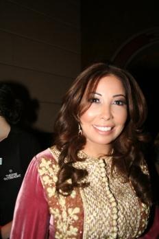 La cantante marroquí Leila Gouchi