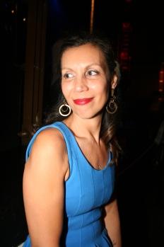 La cantante brasilera Bia Kreiger