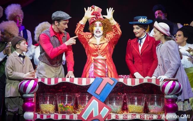Présentation d'extraits de la comédie musicale Mary Poppins, au Théâtre St-Denis, à Montréal, Québec, Canada, le mardi 14 juin 2016. SÉBASTIEN ST-JEAN/AGENCE QMI