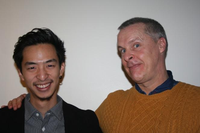 Kenny y su colaborador