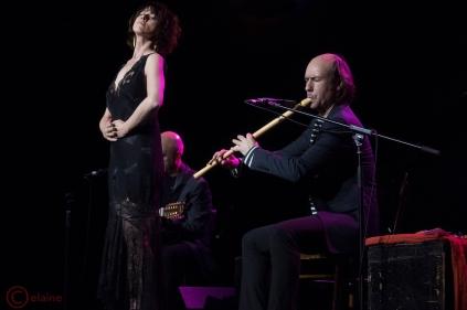 Carlos Nuñez y Maria Berasarte (foto de Peter Granam)