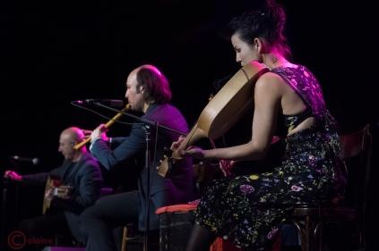Carlos Nuñez y Carmen Gallego (foto de Peter Graham)