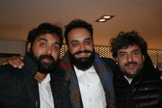 David de Jacoba, Pirana y Antonio Serrano